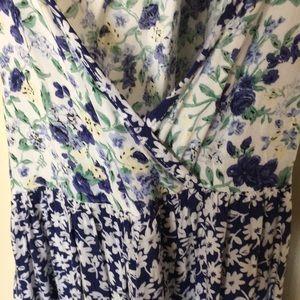 Forever 21 Dresses - Wild Blue x Sadie Robertson Floral Swing Dress